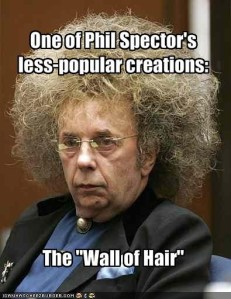 Phil Spector Hair Meme